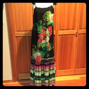 INC Beautiful Tropical Dress